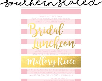 Bridesmaids Luncheon Invitation