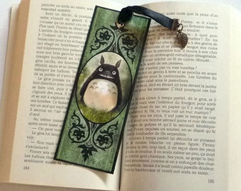Made My neighbor Totoro - illustrated, laminated, bookmark