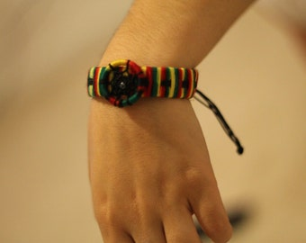 Striped Dream Catcher Bracelet