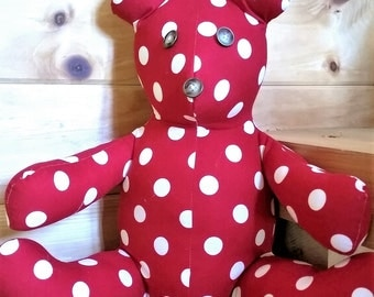 Root Chakra Healing Bear- helps to heal your insecurities and fear, helps to gain financial security and stability