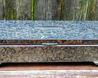 Vintage Victorian jewelry box
