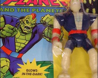 Duke Nukem from Captain Planet Vintage 1991 Action Figure Tiger Toys NOS