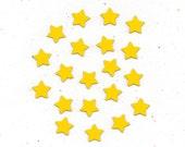 Mini Magnets x20 Hearts and Stars