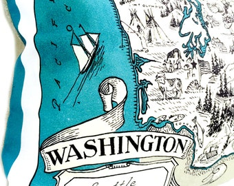 Washington Pillow Cover with Insert