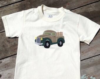 Childrens truck shirt