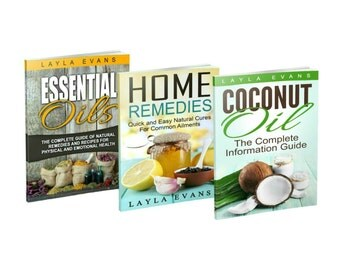 Essential Oils eBooks Set of 3 for Essential Oils, Home Remedies, and Coconut Oil Information and Guidance