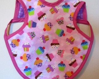 Pink Cupcakes Bapron