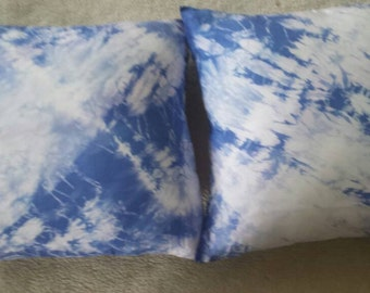 Shibori Silk pillow
