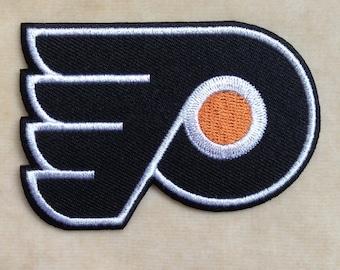 Philadelphia Flyers NHL Logo Iron On Patch
