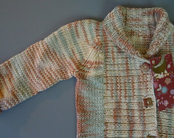 Child's Shawl Collar Cardigan