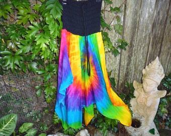 Girls tye dye dresses