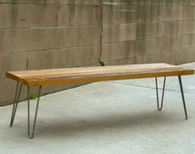 R&A Custom Reclaimed Wood Bench