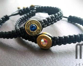 bracelet with bullet shell