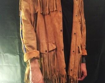 Vintage Western Fringe Jacket