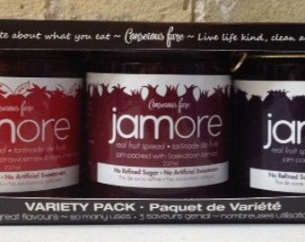 Jamore Real Fruit Spread 3 Pack Gift Set