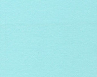 Organic flannel fabric. Cloud9 flannel fabric, Powder Blue. Solid blue flannel. Various cuts available. Light blue gender neutral