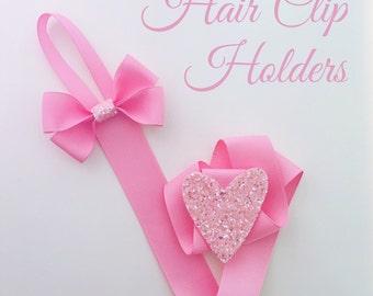 Hair Clip Holder - Handmade