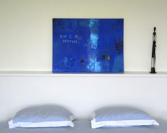 KHCB - original painting - acrylic on canvas - 80 cm x 60 cm