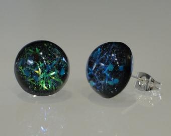 Handmade earrings star dust