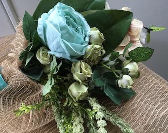 Handmade Spring Bridal Bouquet