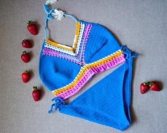 Crochet bikini or top