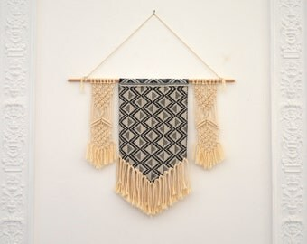 Macrame wall Bohemian fabrics and cotton