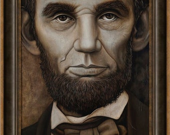 Abraham Lincoln with Frame