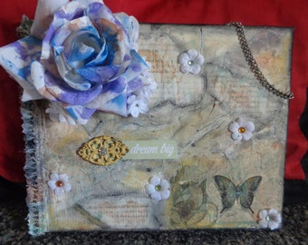 mixed media wall decor