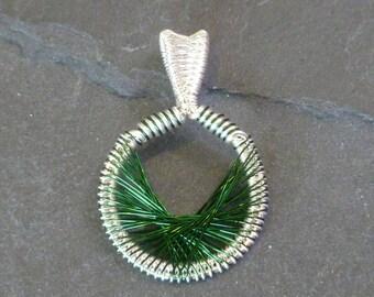 Green Peruvian Pendant