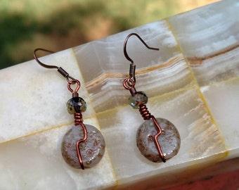 Copper Sandstone drops set