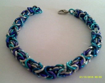 byzantine chainmaille bracelet