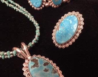 Native American Jewelry Set 3pcs