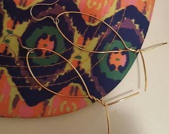 Gold Fishing earrings