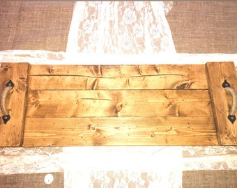 Pallet Serving Tray, Wood Serving Tray, Rustic Tray, Wood Pallet Serving Tray