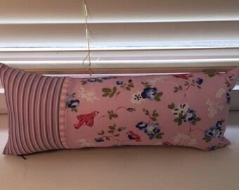 Flowers - Pretty in Pink 50cmx20cm cushion