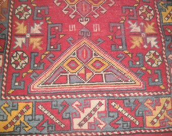 vintage handmade area pink bohemian eclectic country contemporary wool rectangle persian  rugs180x120cm