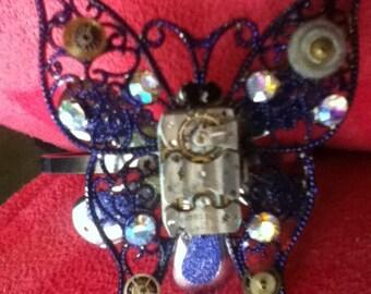 Butterfly Steampunk bracelet