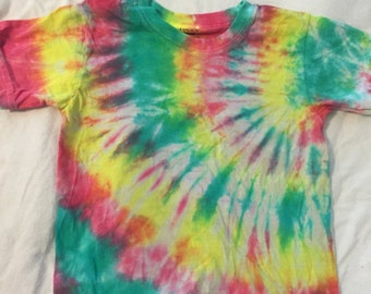 4t  pink green and yellow
