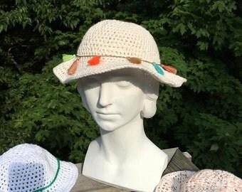 Crochet Cotton SunHat