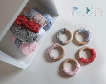 Modern grip rings / / tea thing ring