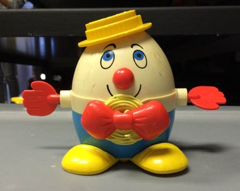 Vintage Fisher Price Humpty Dumpty Toy