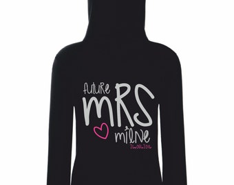 Future Mrs Bridal ZIP UP Hoodie