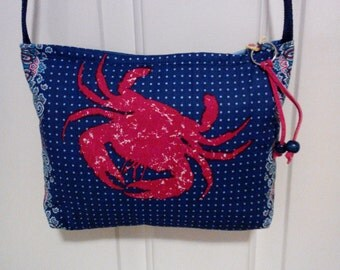 Calico Coastal small shoulder bag.