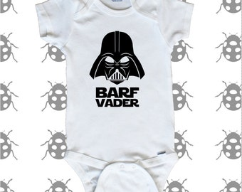 Barf Vader with Darth Vader, onesie Star Wars
