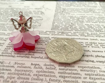 1 Pink Fairy Charm