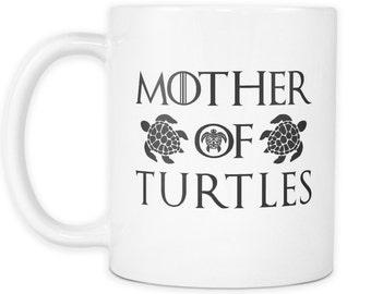 Mother Of Turtles White Mug