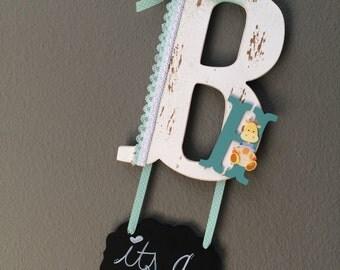 Baby Hospital Door Sign