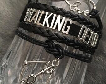 Walking dead inspired bracelets!