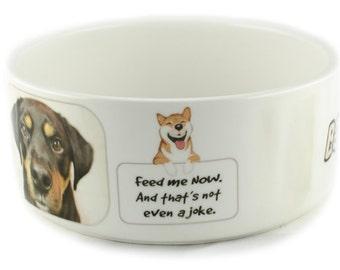 Personalised Dog Bowl - Large