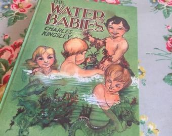 "Vintage ""the water babies "" book by charles kingsley"
